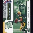 2001 Fleer Game Time Football #081 Brett Favre - Green Bay Packers