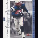 2001 Fleer Genuine Football #122 J.R. Redmond - New England Patriots