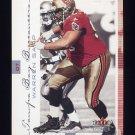 2001 Fleer Genuine Football #080 Warren Sapp - Tampa Bay Buccaneers