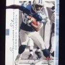 2001 Fleer Genuine Football #075 Derrick Mason - Tennessee Titans