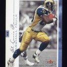 2001 Fleer Genuine Football #059 Marshall Faulk - St. Louis Rams