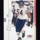 2001 Fleer Genuine Football #020 Brian Urlacher - Chicago Bears