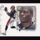 2001 Fleer Legacy Football #114 Chad Johnson RC - Cincinnati Bengals /999