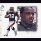 2001 Fleer Legacy Football #111 Rudi Johnson RC - Cincinnati Bengals 349/999