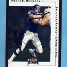 2001 Fleer Premium Football #142 Michael McCrary - Baltimore Ravens