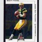 2001 Fleer Premium Football #110 Brett Favre - Green Bay Packers