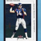 2001 Fleer Premium Football #097 Brian Griese - Denver Broncos