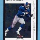 2001 Fleer Premium Football #056 Jessie Armstead - New York Giants