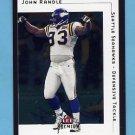 2001 Fleer Premium Football #029 John Randle - Seattle Seahawks