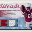 2008 SP Rookie Threads Rookie Threads 199 #RTED Early Doucet - Cardinals Dual Game-Used Jersey /199