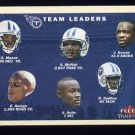 2001 Fleer Tradition Football #380 Tennessee Titans Team Checklist