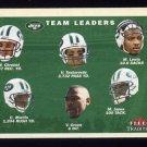 2001 Fleer Tradition Football #374 New York Jets Team Checklist
