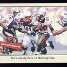 2001 Fleer Tradition Football #367 Tampa Bay Buccaneers TC