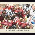 2001 Fleer Tradition Football #364 San Francisco 49ers TC