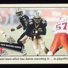 2001 Fleer Tradition Football #357 New Orleans Saints TC
