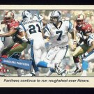 2001 Fleer Tradition Football #343 Carolina Panthers TC