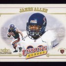 2001 Fleer Tradition Football #338 James Allen - Chicago Bears