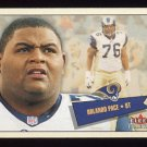 2001 Fleer Tradition Football #273 Orlando Pace - St. Louis Rams