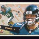 2001 Fleer Tradition Football #255 Kyle Brady - Jacksonville Jaguars