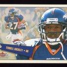 2001 Fleer Tradition Football #252 Terrell Buckley - Denver Broncos