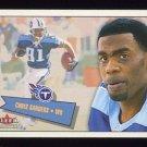 2001 Fleer Tradition Football #227 Chris Sanders - Tennessee Titans