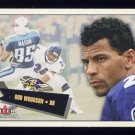 2001 Fleer Tradition Football #169 Rod Woodson - Baltimore Ravens