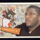 2001 Fleer Tradition Football #154 Travis Prentice - Cleveland Browns