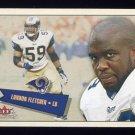 2001 Fleer Tradition Football #141 London Fletcher - St. Louis Rams