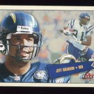 2001 Fleer Tradition Football #108 Jeff Graham - San Diego Chargers