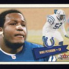 2001 Fleer Tradition Football #060 Mike Peterson - Indianapolis Colts