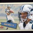 2001 Fleer Tradition Football #006 Wesley Walls - Carolina Panthers