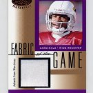 2001 Leaf Certified Materials Fabric Of The Game #120BA Frank Sanders - Cardinals Game-Used Jersey