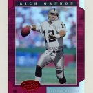 2001 Leaf Certified Materials Mirror Red #073 Rich Gannon - Oakland Raiders 71/75