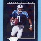 2001 Leaf Certified Materials Football #082 Steve McNair - Tennessee Titans