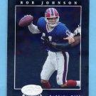 2001 Leaf Certified Materials Football #076 Rob Johnson - Buffalo Bills