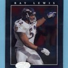 2001 Leaf Certified Materials Football #072 Ray Lewis - Baltimore Ravens