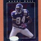2001 Leaf Certified Materials Football #071 Randy Moss - Minnesota Vikings