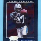 2001 Leaf Certified Materials Football #067 Muhsin Muhammad - Carolina Panthers