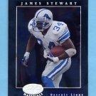 2001 Leaf Certified Materials Football #042 James Stewart - Detroit Lions