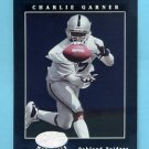 2001 Leaf Certified Materials Football #015 Charlie Garner - Oakland Raiders