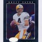 2001 Leaf Certified Materials Football #008 Brett Favre - Green Bay Packers