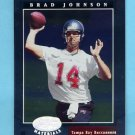 2001 Leaf Certified Materials Football #007 Brad Johnson - Tampa Bay Buccaneers