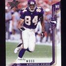 2001 Leaf Rookies And Stars Football #070 Randy Moss - Minnesota Vikings