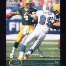 2001 Pacific Football #162 Brett Favre - Green Bay Packers