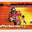 2001 Pacific Invincible Afterburners #20 Warrick Dunn - Tampa Bay Buccaneers /2000