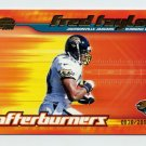 2001 Pacific Invincible Afterburners #09 Fred Taylor - Jacksonville Jaguars 0838/2000