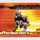 2001 Pacific Invincible Afterburners #05 Peter Warrick - Cincinnati Bengals 0471/2000