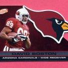 2001 Pacific Prism Atomic Football #001 David Boston - Arizona Cardinals