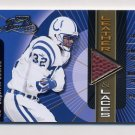 2000 Absolute Leather And Laces #EJ32 Edgerrin James - Indianapolis Colts Game-Used Football 046/175