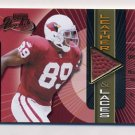 2000 Absolute Leather And Laces #DB89 David Boston - Arizona Cardinals Game-Used Football 046/175